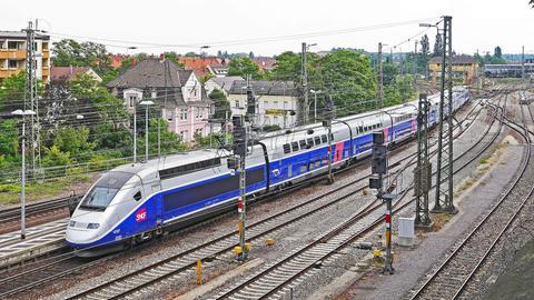TGV unterwegs
