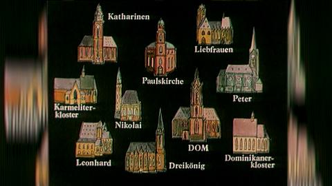 Kirchen des Frankfurter Stadtgeläuts
